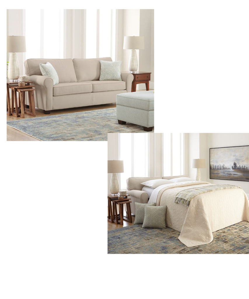 Sleeper sofas like this one by Best Home Furnishing also add convenience to your Chattanooga living room.