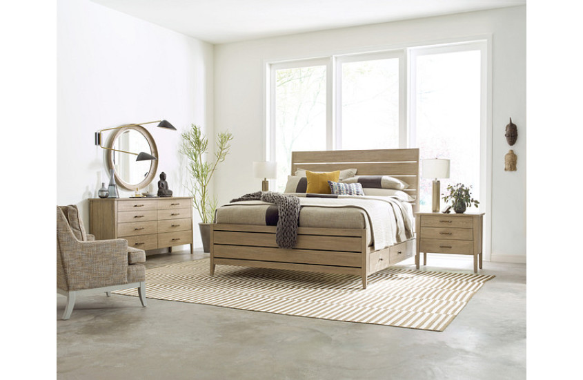 Storage beds, like this one from Kincaid, are the ultimate in functional furniture.