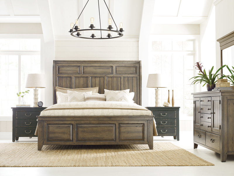 Upgrade your Chattanooga interior design game by avoiding too many matching sets. Try these accent chest nightstands from Kincaid.