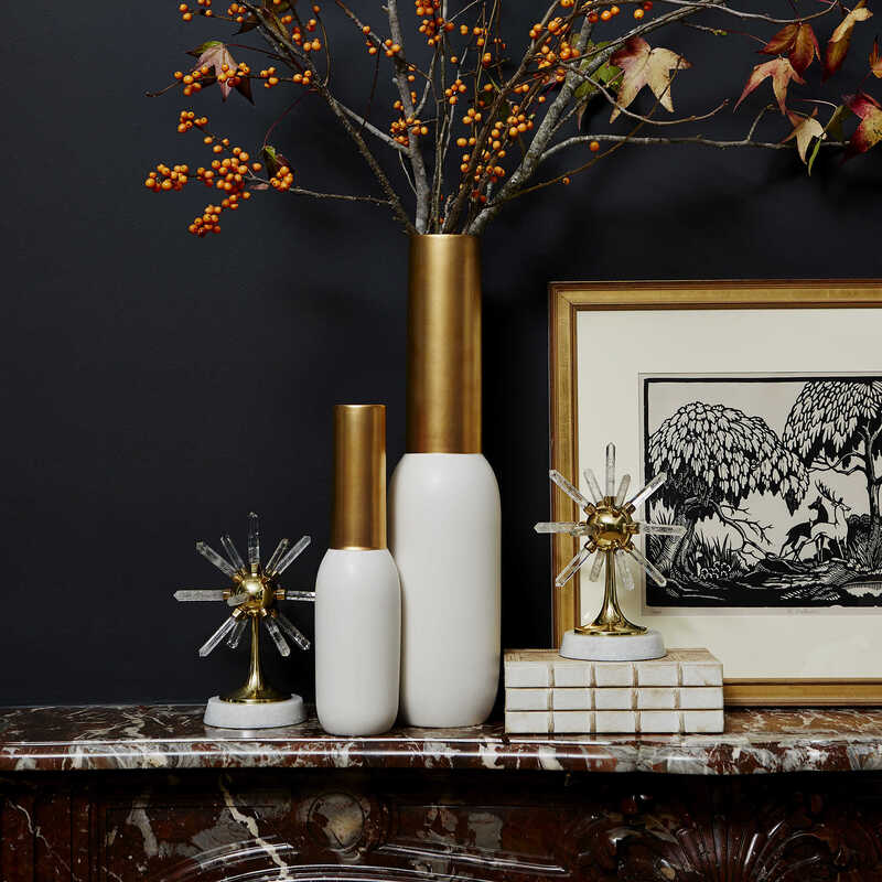 Bring the outdoors inside with branches and foliage for a fall look for your Chattanooga interior design.