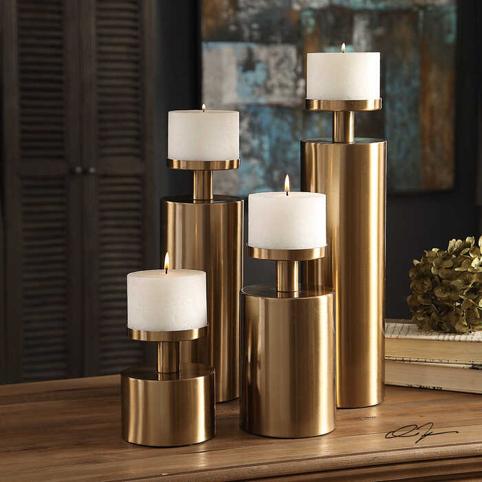 Uttermost candle holders for your Thanksgiving centerpiece