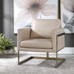 The Alexandra chair from Uttermost makes a great update for your Chattanooga living room furniture.