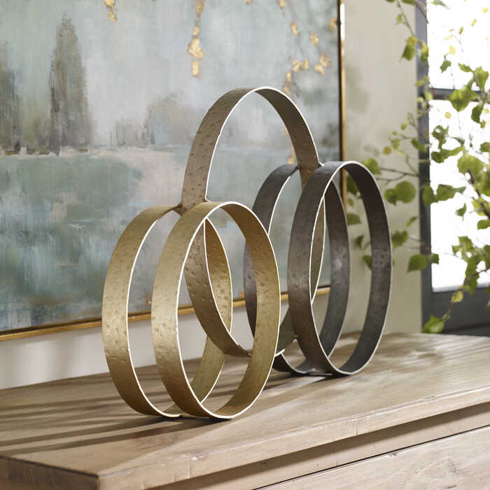 This Uttermost piece makes for a great Thanksgiving centerpiece that won't block the view of your guests across the table