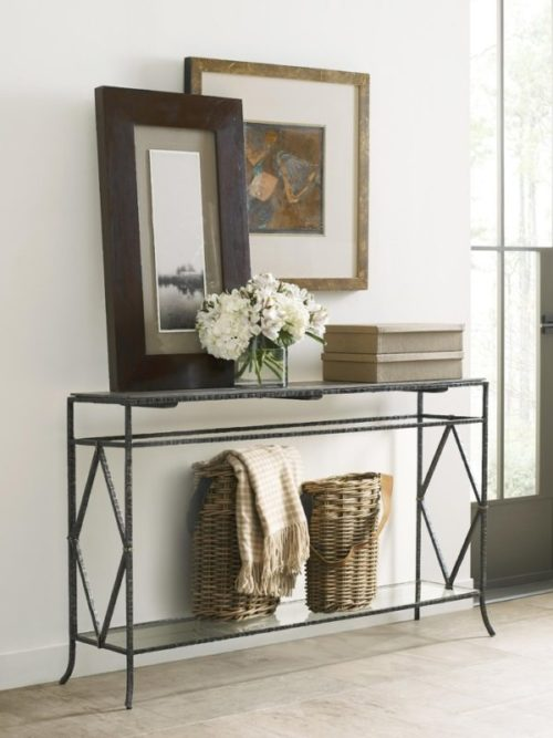 This console table by Kincaid holds wonderful home decor pieces that adds the extra touch.