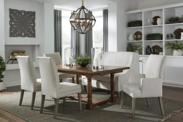 Dining chairs by Best Home Furnishings adds to the modern decor of the home.