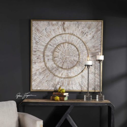 Mahala Wood Wall Panel by Uttermost is the perfect home interior decor piece for your home.