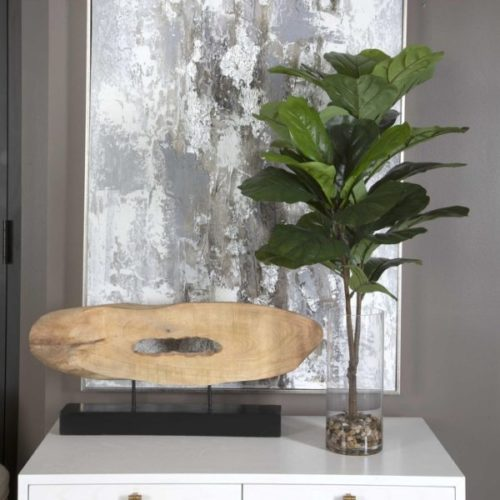 URBANA FIDDLE LEAF FIG BY UTTERMOST BRINGS THE PERFECT HOME INTERIOR DECOR TOUCH TO ANY ROOM.