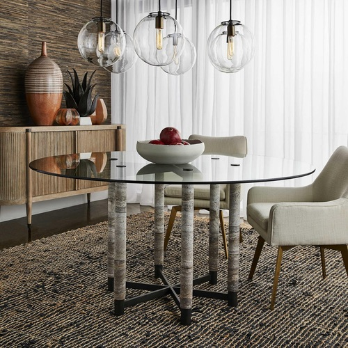 Twist dining char by Uttermost adding elegance to any dining room