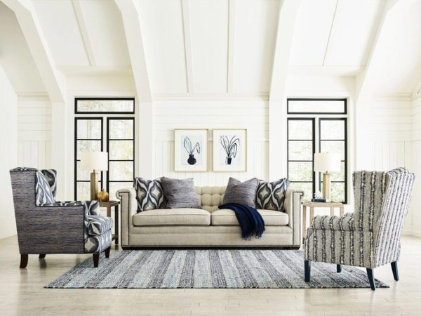 living room makeover with a sofa by Kincaid.