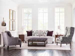 Sisley Sofa by Kincaid adds perfect touch for a living room makeover