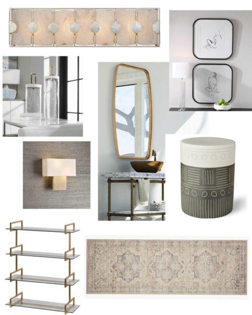 Decor pieces that give a bathroom renovation a designer look