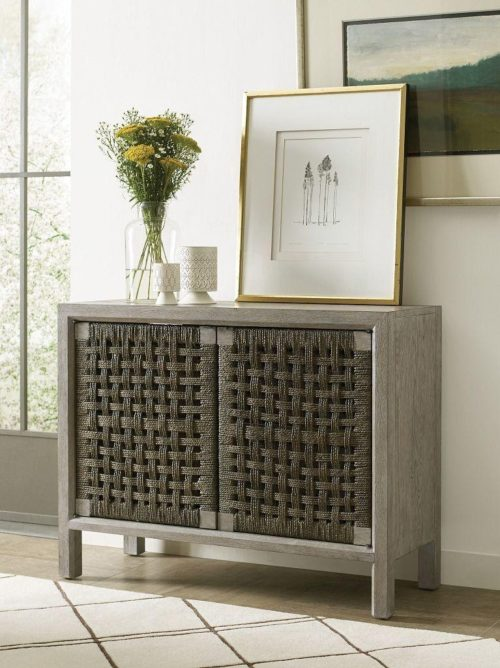 Console cabinet by Kincaid is a perfect piece of grey furniture.