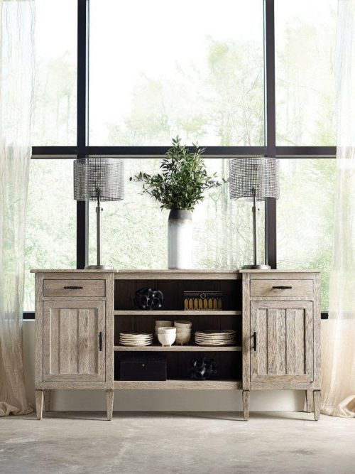 Matthew Buffet by Kincaid adds perfect touch as a grey furniture piece