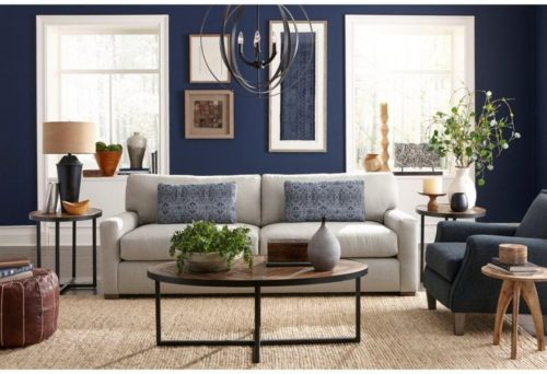 Comfy sofa by Best Home Furnishings bringing a mood for this home design