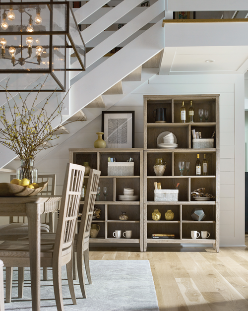 Dining room storage cabinet in a modern house by Kincaid