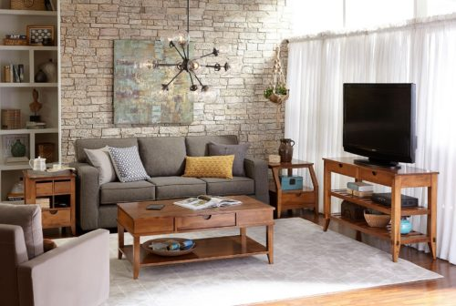 Handmade living room home furniture set.