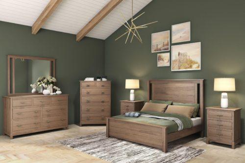 Handmade home furniture bedroom set.
