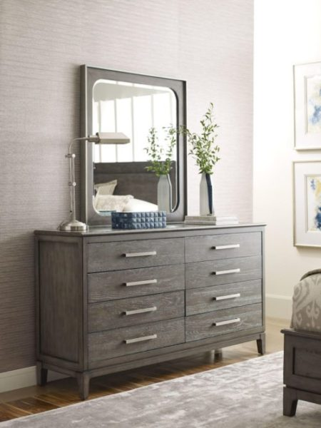 bedroom decor dark brown dresser for a casual style