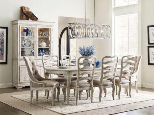 Kincaid Furniture leg dining table
