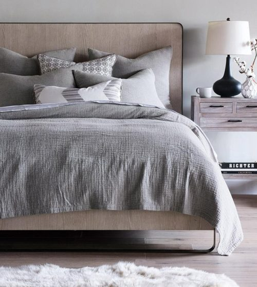 bedroom decor with bedding furniture