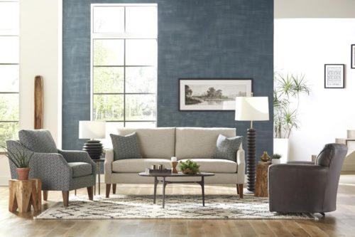 Modern design formal living room set