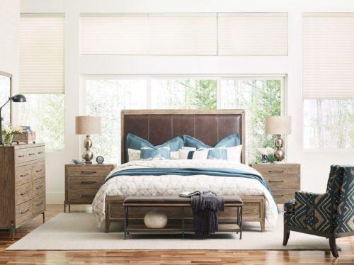 Modern design bedroom set by Kincaid