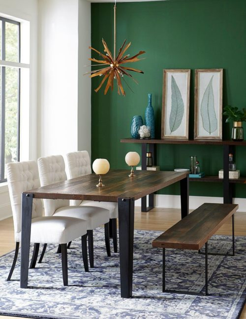 chic dining room furniture table by Fusion Designs