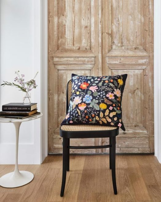 Floral pillow from Loloi to add summer decor to any room.