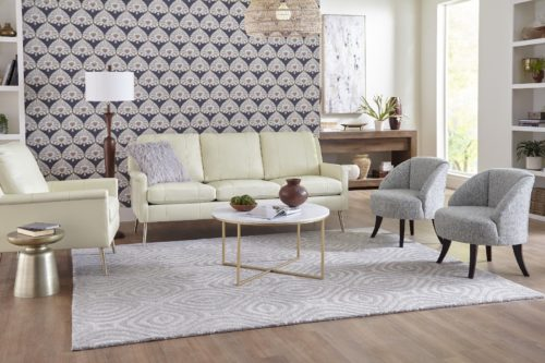 Eclectic living room set from Best Home Furnishings for fun furniture styles for the living room.