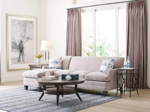 Beautiful furniture styles with a mix and match living room set from Kincaid.