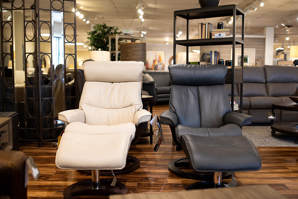Modern Chattanooga recliners at EF Brannon