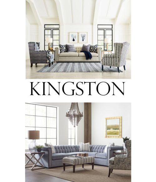 Kingston sofas and sectionals in a living room by Kincaid