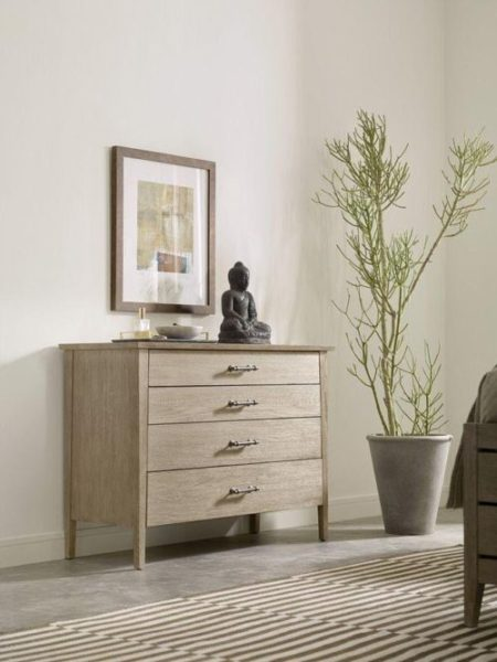 Distressed wood small dresser by Kincaid.